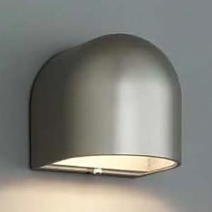 山田照明 LEDランプ交換型エクステリアブラケットライト 屋外用壁付灯 明暗センサー付 防雨型 白熱40W相当 電球色 E17口金 ランプ付 ダークシルバー AD-2695-L