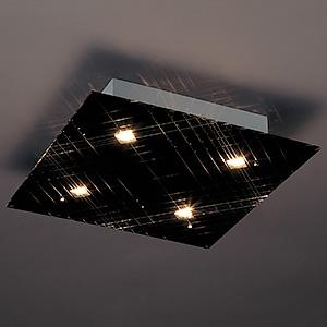 山田照明 LEDランプ交換型シーリングライト 非調光 ダイクロハロゲン60W×4相当 電球色 E11口金 ランプ付 LD-2984-L