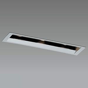 山田照明 LED一体型ダウンライト ラインアジャスタブルタイプ ダイクロハロゲン35W×3相当 電球色 配光角度21° 天井切込穴45×190mm 電源別売 DD-3456-LL
