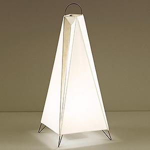 山田照明 LEDランプ交換型スタンドライト 非調光 白熱60W相当 電球色 E26口金 ランプ・中間スイッチ付 FD-4171-L