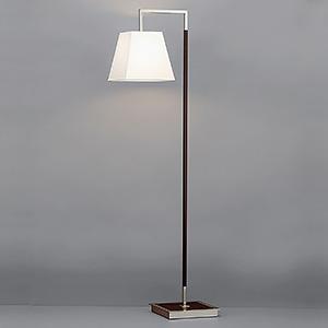山田照明 LEDランプ交換型スタンドライト 床置き型 非調光 白熱100W相当 電球色 E26口金 ランプ・転倒時消灯スイッチ・フットスイッチ付 FD-4172-L