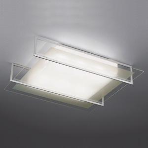 山田照明 LEDランプ交換型シーリングライト ~8畳用 ボルト固定型 非調光 LED電球7.8W×6 電球色 E26口金 ランプ付 シルバー LD-2990-L