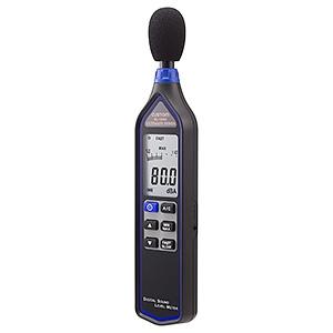 カスタム デジタル騒音計 A/C特性 デジタル・アナログ表示 AC/DC出力端子付 SL-1340U