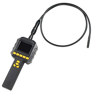 カスタム スネークスコープ microSD録画・再生対応 ケーブル部IP67準拠 アタッチメント付 SS-12