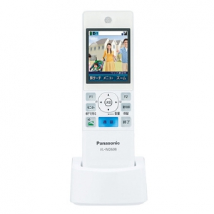 パナソニック ワイヤレスモニター子機 増設用子機 ドアホン・電話両用 2.4型カラー液晶ディスプレイ VL-WD608