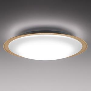 三菱 LED一体型シーリングライト ~12畳用 調色・調光タイプ 電球色~昼光色 白木調枠 EL-CP5014M1HZ