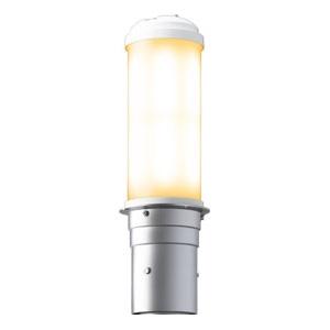岩崎電気 LEDポールライト 《LEDioc AREA TOLICA-L》 水銀ランプ400W相当 防雨形 電球色 電源ユニット別置形 メタリックシルバー E50075/LSAN9
