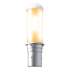 岩崎電気 LEDポールライト 《LEDioc AREA TOLICA-L》 水銀ランプ300~250W相当 防雨形 電球色 電源ユニット別置形 メタリックシルバー E50073/LSAN9