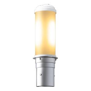 岩崎電気 LEDポールライト 《LEDioc AREA TOLICA-L》 水銀ランプ100W相当 防雨形 電球色 電源ユニット別置形 メタリックシルバー E50069/LSAN9
