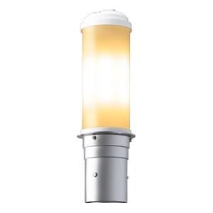 岩崎電気 LEDポールライト 《LEDioc AREA TOLICA-L》 水銀ランプ200W相当 防雨形 電球色 電源ユニット別置形 メタリックシルバー E50071/LSAN9