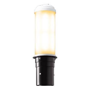 岩崎電気 LEDポールライト 《LEDioc AREA TOLICA-L》 水銀ランプ400W相当 防雨形 電球色 電源ユニット別置形 ダークブラウン E50075/LSAN9/DB