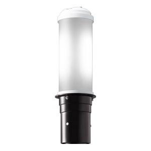 岩崎電気 LEDポールライト 《LEDioc AREA TOLICA-L》 水銀ランプ100W相当 防雨形 昼白色 電源ユニット別置形 ダークブラウン E50069/NSAN9/DB