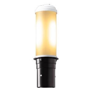 岩崎電気 LEDポールライト 《LEDioc AREA TOLICA-L》 水銀ランプ100W相当 防雨形 電球色 電源ユニット別置形 ダークブラウン E50069/LSAN9/DB