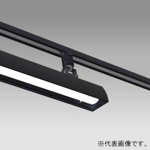 テスライティング LEDベースライト 《リビアーノ -LIVIANO-》 1200mmタイプ ライティングレール取付タイプ 昼白色相当 可動範囲150° 黒 TFL-8452B-50