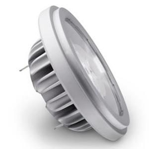 SORAA LED電球 ハロゲンランプ形 AR111タイプ 全光束1040lm 配光角25° 白色 G53口金 SR111-18-25D-940-03