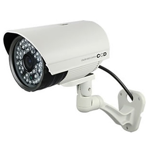 オンスクエア SDカード防犯カメラ 防塵防水IP55 赤外線LED×48灯 録画装置内蔵 OL-022W