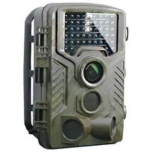 オンスクエア Wセンサーカメラ 乾電池式 防塵防水IP56相当 赤外線LED×46灯 SDカード式録画装置内蔵 OL-501
