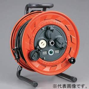 ハタヤ AP型コードリール 100Vタイプ 標準型 2P 15A 125V 抜止め型 コンセント3個 長さ30m VCT2.0㎟×2C 温度センサー内蔵 AP-301