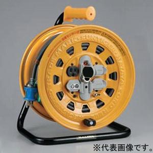 ハタヤ サンタイガーリール 100Vタイプ 漏電遮断機付 2P 15A 125V 接地付 コンセント4個 長さ20m VCT2.0㎟×3C 温度センサー内蔵 BG-201KXS