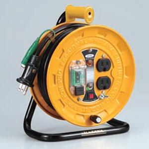 ハタヤ JT-Ⅲ 100Vタイプ 漏電遮断器付(アースチェック付) 2P 15A 125V 接地付 コンセント2個 長さ10m VCTF2.0㎟×3C 温度センサー内蔵 SBJⅢ-101KE