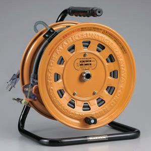 ハタヤ サンタイガーテモートリール 100Vタイプ 標準型 2P 15A 125V 二次側コンセント3個 長さ30+3m VCT2.0㎟×2C 温度センサー内蔵 TG-130