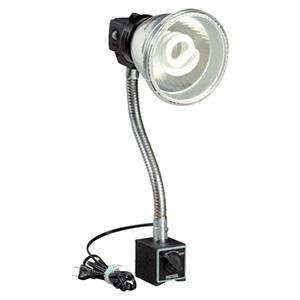ハタヤ 蛍光灯マグスタンド マグネットタイプ 屋内用 18W蛍光灯 昼光色 電線長1.6m MF-15M
