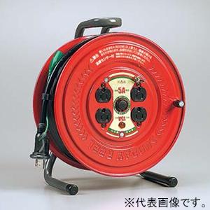 ハタヤ サンデーリール 100Vタイプ 標準型 2P 15A 125V 接地付 コンセント4個 長さ30m VCT2.0㎟×3C 温度センサー内蔵 GS-301KS
