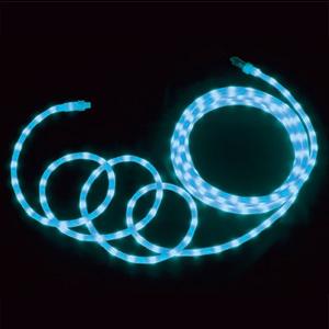 ジェフコム LEDソフトネオン 乳白ロッドタイプ 40mmピッチ 長さ4m 青 PR-E340W-04BB