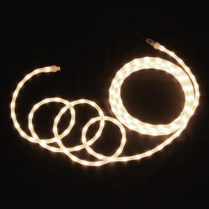 ジェフコム LEDソフトネオン 乳白ロッドタイプ 40mmピッチ 長さ8m 電球色 PR-E340W-08LL