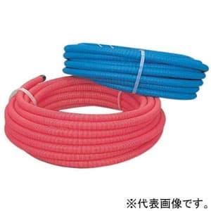 カクダイ サヤ管 呼び径25 長さ50m 赤 672-152-50R