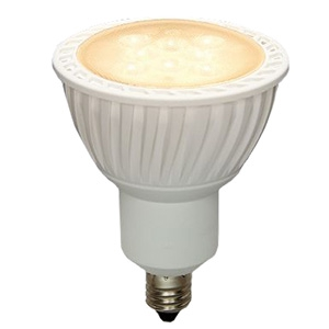 電材堂 【ケース販売特価 10個セット】 LED電球 ハロゲン電球7W形タイプ ビーム角60° 超広角タイプ 電球色 E11口金 LDR7LWWE11DNZ_set