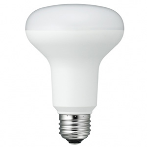 電材堂 特別セール品 LED電球 R80レフ形100W相当 ビーム角120° E26口金 電球色 チープ LDR8LHDNZ 密閉型器具対応