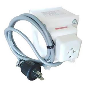 日章工業 昇圧変圧器 《アップトランス NDFシリーズ》 UPUタイプ AC100~127V 出力容量1800W 温度ヒューズ内蔵 NDF-1800UPU