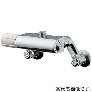 カクダイ サーモスタットユニット 接続ネジG1/2 最高出湯温度45℃ 寒冷地用 逆流防止機能付 173-301K