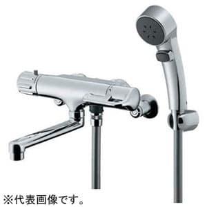 カクダイ サーモスタットシャワー混合栓 節湯型 逆配管タイプ 逆流防止機能付 173-136