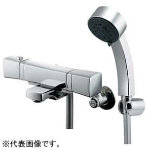 カクダイ サーモスタットシャワー混合栓 《RATONA》 節湯型 壁付タイプ 逆流防止機能付 173-237