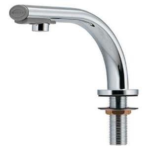カクダイ 小型電気温水器 《篝》 ワイヤレススイッチタイプ 単水栓タイプ 瞬間式 ヒーター容量1240W 取付穴径22~28mm 吐水口高さ72mm 239-003