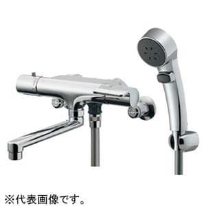 カクダイ サーモスタットシャワー混合栓 節湯型 壁付タイプ 逆流防止機能付 173-063