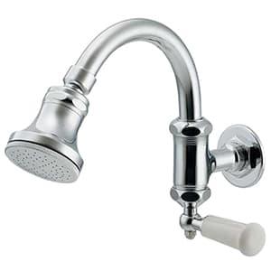 カクダイ シャワー水栓 レバー式 単水栓タイプ 呼び径13 400-542-13W