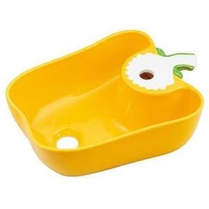 カクダイ Da Reyaアイキャッチ手洗器 《国産パプリカ》 置型タイプ 排水・国内7 イエロー 493-157-Y