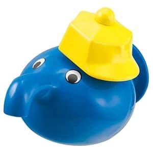 カクダイ 子供用水栓 《蛇口くん》 単水栓タイプ 固定コマ式 呼び径13 吐水口高さ33mm ブルー 711-403-13