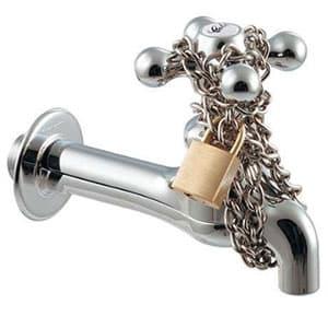 カクダイ Da Reyaアイキャッチ水栓 《お気持ちだけ》 単水栓タイプ 呼び径13 90°開閉ハンドル機能付 711-043-13