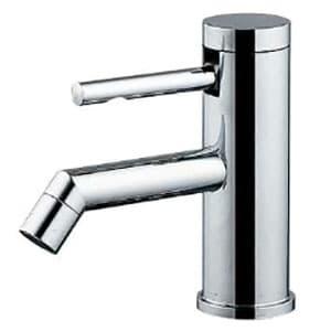 カクダイ シングルレバー立水栓 《SYATORA》 洗面用 単水栓タイプ 呼び径13 取付穴径22~28mm 吐水口高さ42mm 7162-13