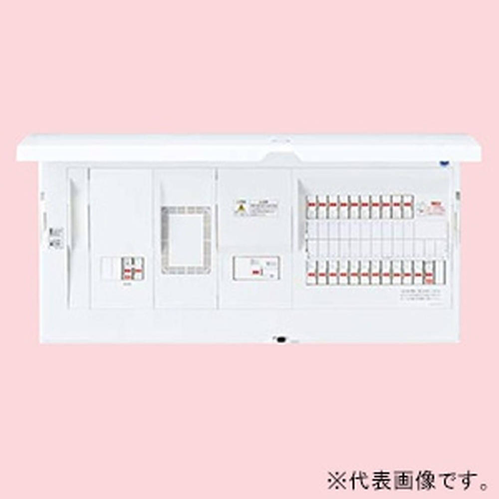 パナソニック 住宅分電盤 《スマートコスモ》 レディ型 省エネ対応 電気温水器(端子台付1次送りタイプ)・IH対応 10+1 主幹75A BHR37101T4