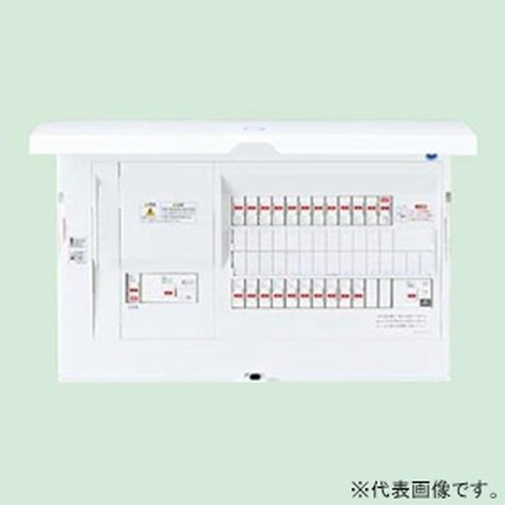 パナソニック 住宅分電盤 《スマートコスモ》 レディ型 創エネ対応 太陽光発電システム・エコキュート・電気温水器(1次送りタイプ)・IH対応 22+2 主幹100A BHR810222S3