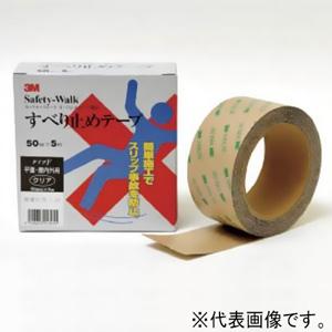 スリーエムジャパン すべり止めテープ セーフティ・ウォーク 平面用 100mm×5m 透明 FCLE100*5