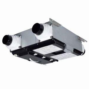 三菱 ロスナイセントラル換気システム 右タイプ 薄形ベーシックシリーズ 温暖地仕様 居室・洗面所用 接続パイプφ100mm VL-15ZMH3-R