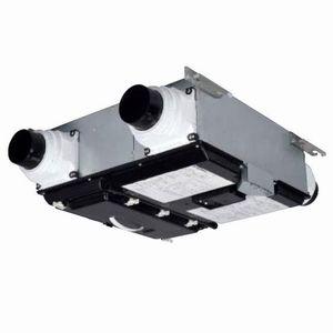 三菱 ロスナイセントラル換気システム 右タイプ 薄形ベーシックシリーズ 温暖地仕様 居室・洗面所用 接続パイプφ100mm VL-20ZMH3-R