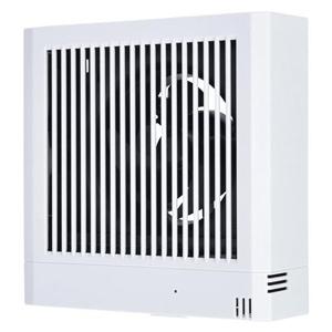 三菱 パイプ用ファン 温度センサータイプ 角形格子グリル 居室用 接続パイプφ150mm V-12PTLD7