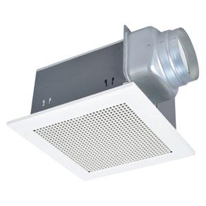 三菱 ダクト用換気扇 天井埋込形 低騒音形 浴室・トイレ・洗面所用 接続パイプφ150mm 埋込寸法395mm角 VD-23ZB10